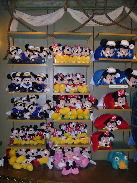 Mickey & Minnie Mouse plush