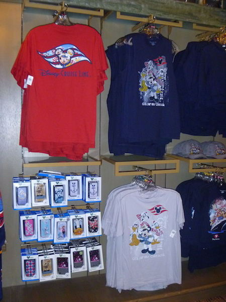 Cruise Line tshirts and iPhone/Android cases (see those Frozen ones!)