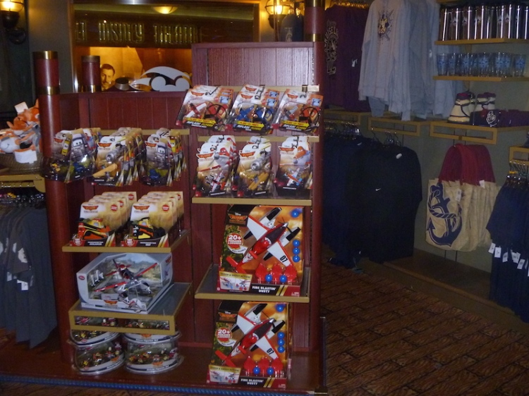 Planes premiered while we were cruising so the Planes/Cars merchandise was available