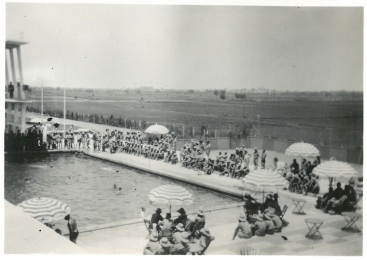 Swimming Pool - Mena Sports Ground - July 21 1941Swimming Pool - Mena Sports Ground - July 21 1941