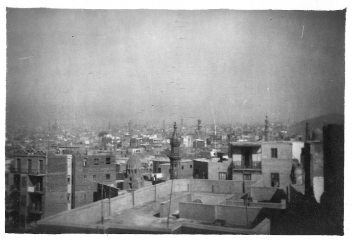 View of Cairo - taken from Ali Bey Mosque
