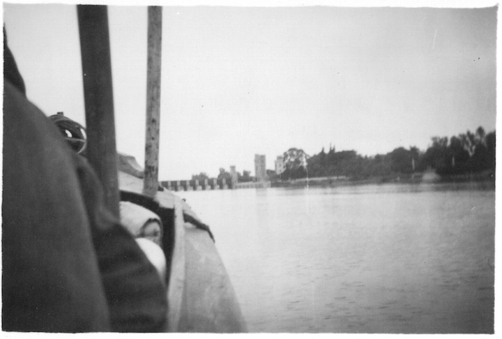 View of Delta Barrage - Taken off launch on Nile