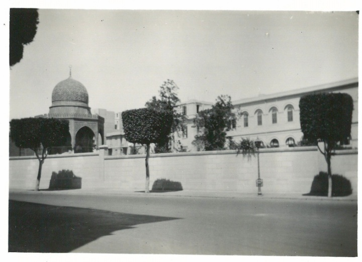 View of King Farouch's Palace - Cairo - July 23 1941