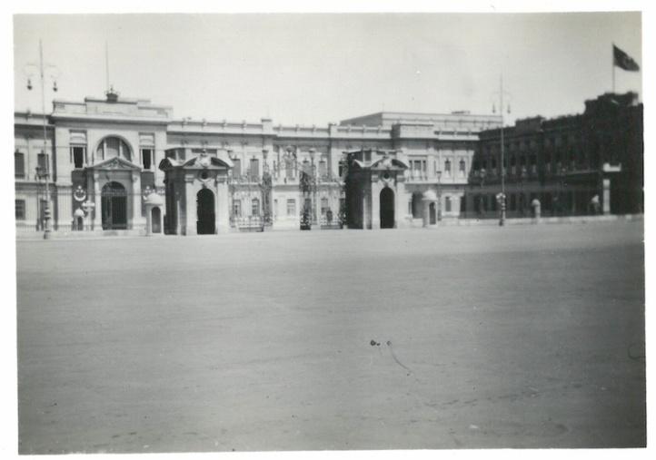 View of King Farouk's Palace - Cairo July 23 1941