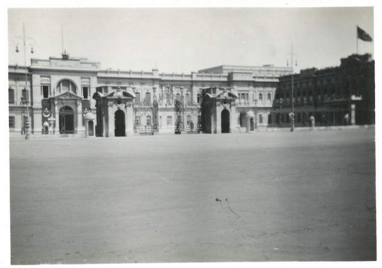View of King Farouk's Palace - Cairo July 23 1941