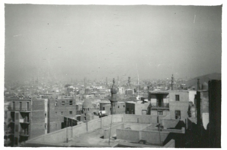 View of part of Cairo - taken from Mosque