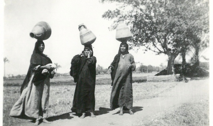 Women Balancing Water Containers