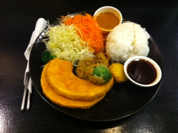 Jizo Cafe & Bar - Vegetable Katsu