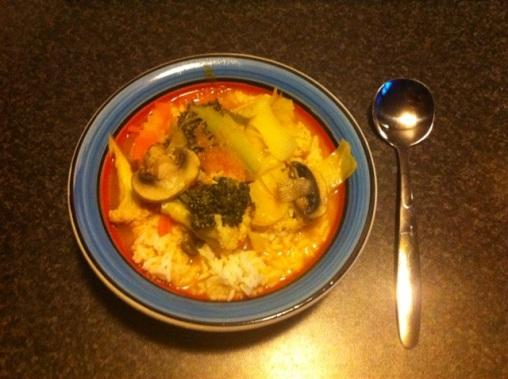 Tom Yum Mushroom Soup