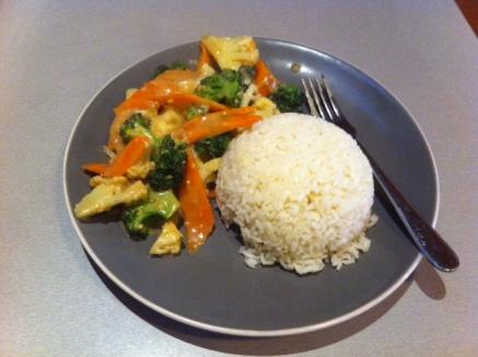 Savoury Japan - Satay Vegetables