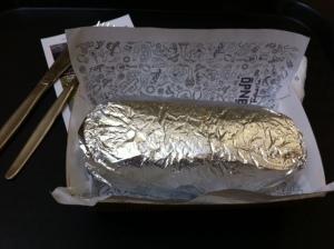 Chilando Mexican - Burrito Vegetariano