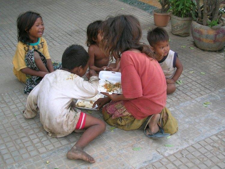 Cambodian Street Children