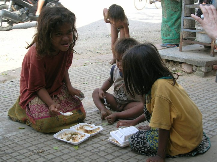 Cambodian Street Children