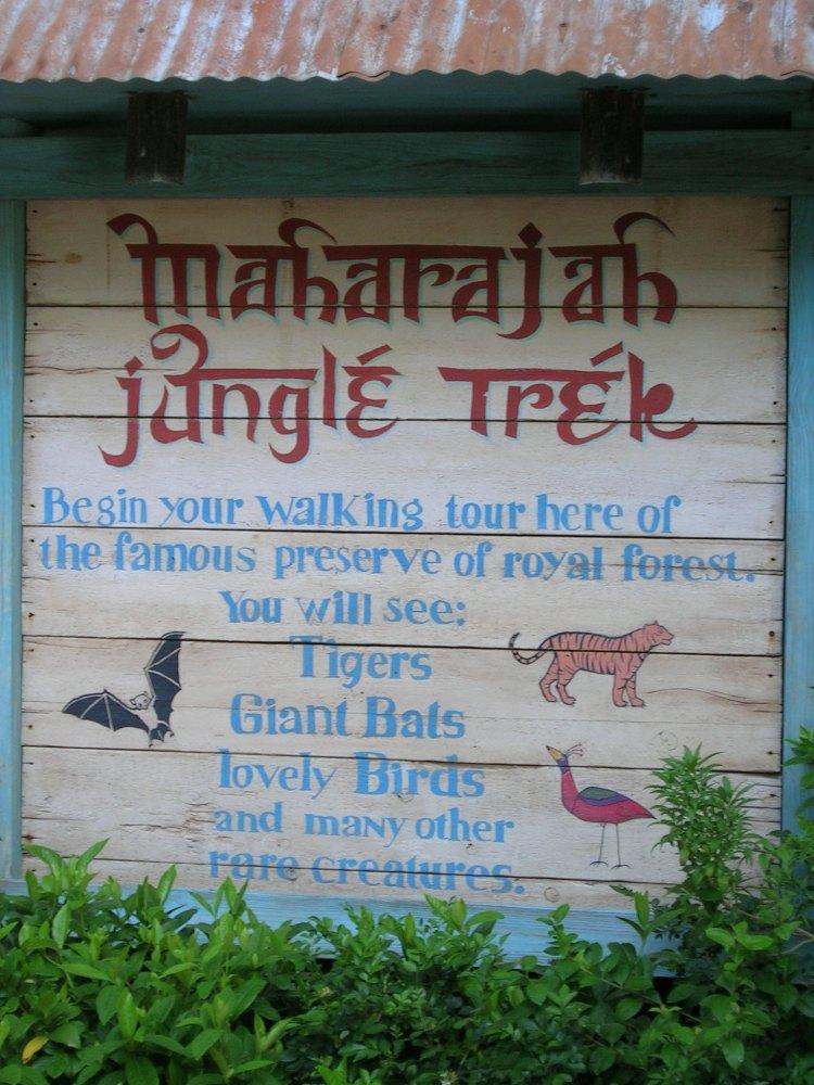 Jungle Trek Sign 2
