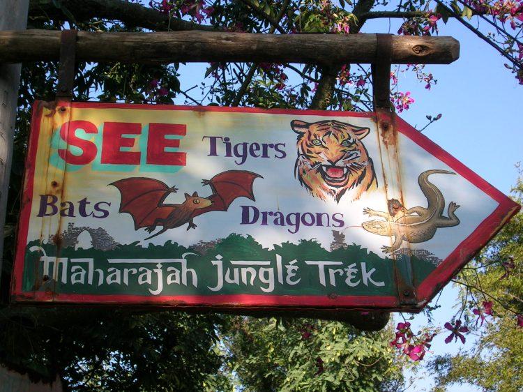 Jungle Trek Sign