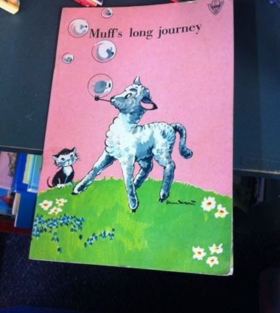 "Children's book called ""Muff's Long Journey"""