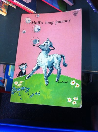 "Children's book called ""Muff's Long Journey"""