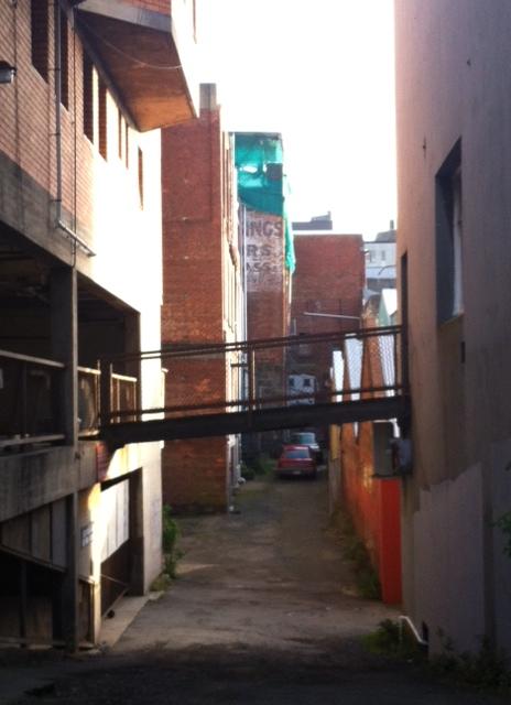 A random alley