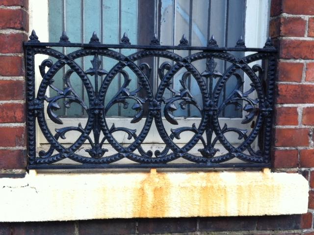 Decorative window railings