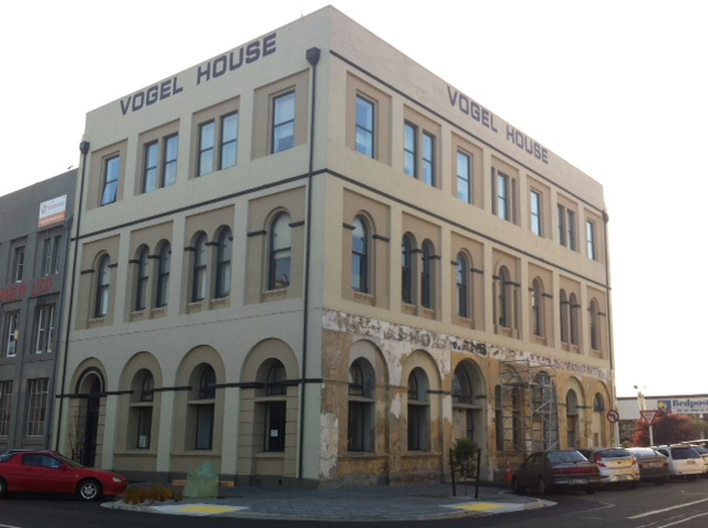 Vogel House - a restoration work in progress