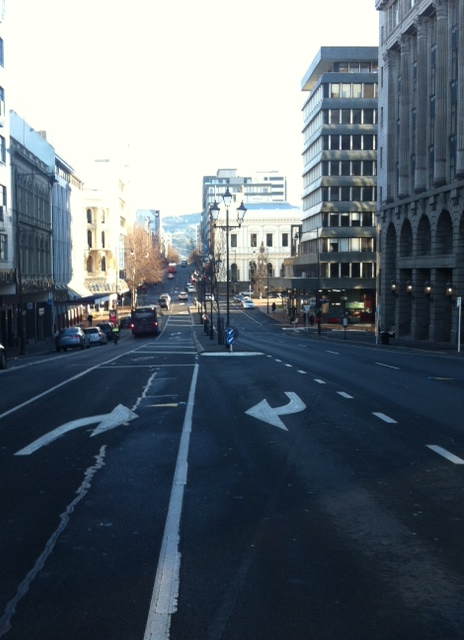 All the bustling traffic.... (love a city where you can pretty much cross the road anywhere)