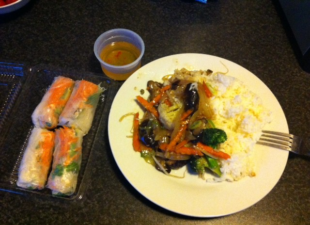 San Restaurant - Fresh Rice Rolls and Char Mushroom