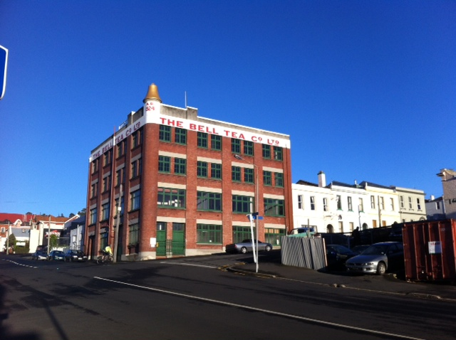 The Bell Tea building which just sold a week or so ago - this is just over the road from my unit