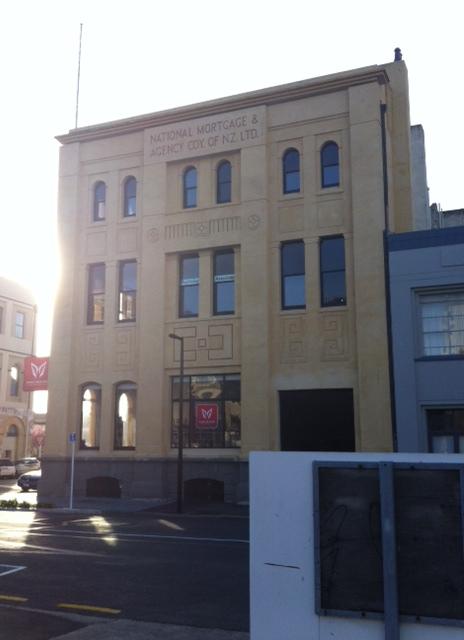 One of the lovely buildings on Vogel Street