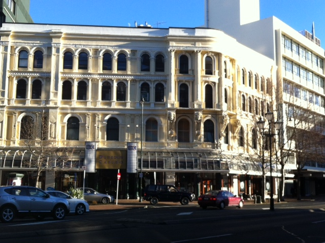 The Dunedin Casino building