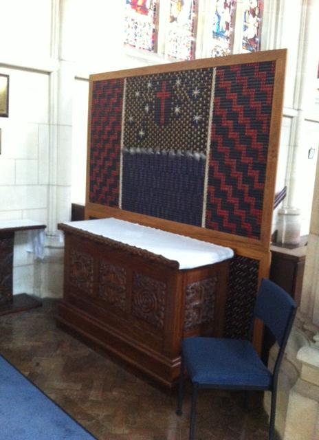 A Maori weaving