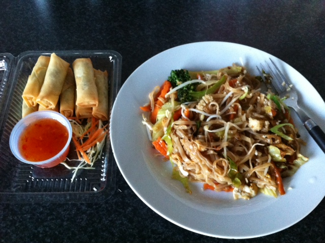 San Restaurant - Spring Rolls & Char Noodle