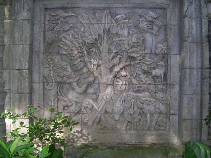 Wall Carving 1