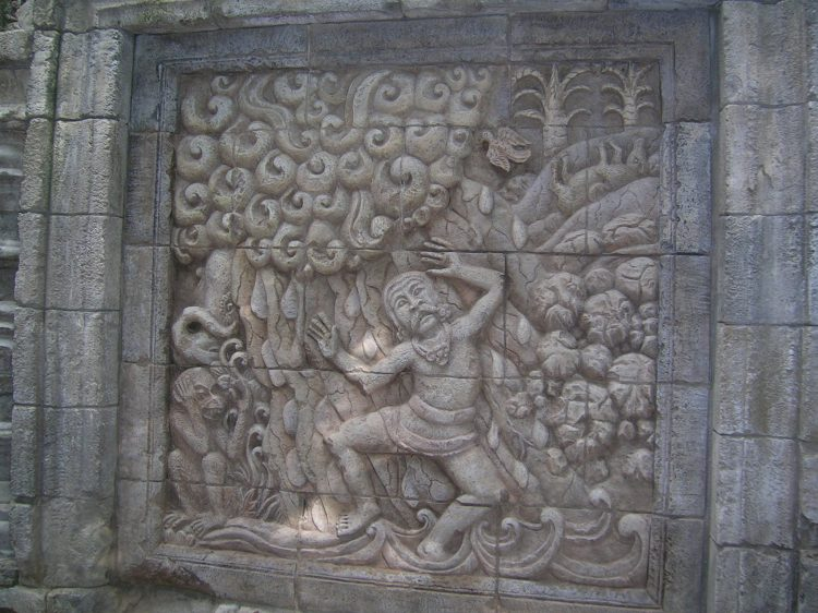 Wall Carving 4