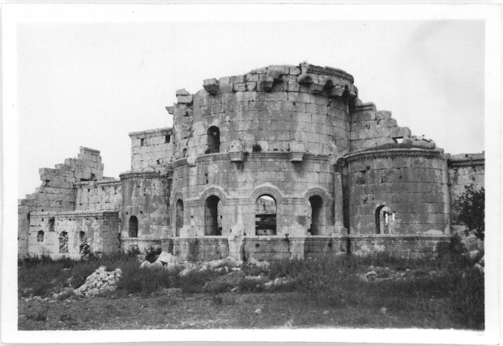 Ruins on the Turkish-Syrian Border