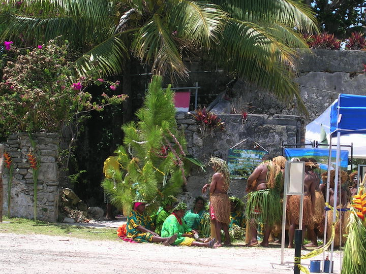 Christmas Tree and Native Dances - Isle of Pines, New Caledonia