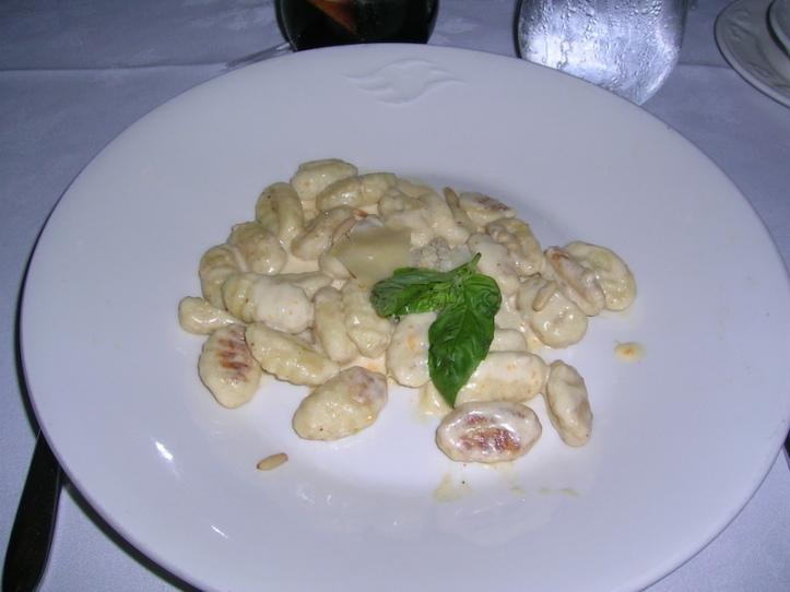 Gnocchi - this was delicious!