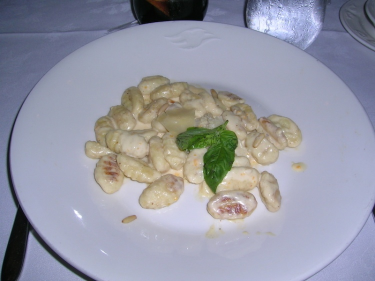 Gnocchi - this was delicious!
