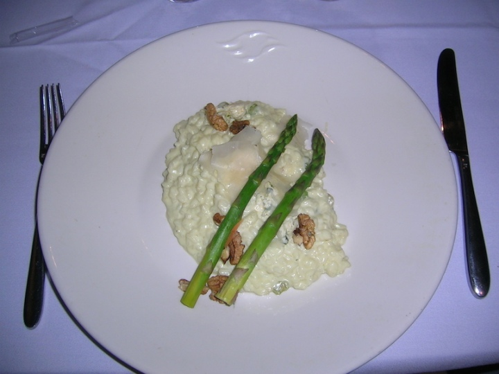 Risotto - I don't remember what flavour but I know I enjoyed it