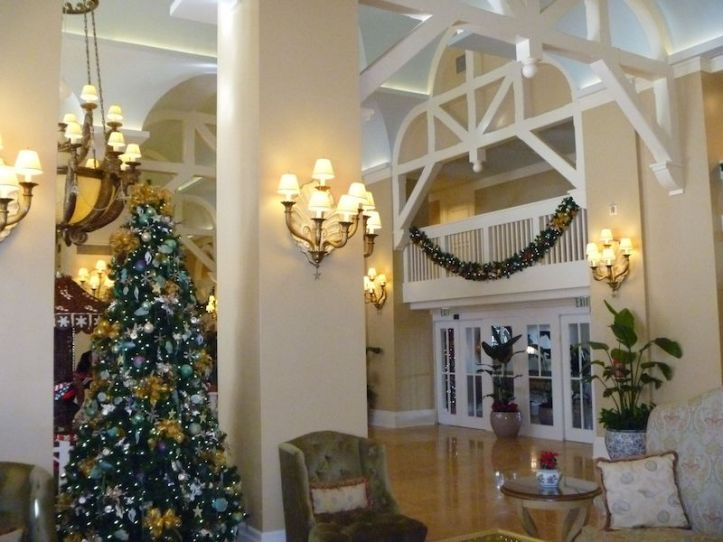 Decorations at the Beach Club Resort