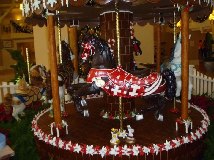 Oh and did I mention the horses were made out of chocolate?