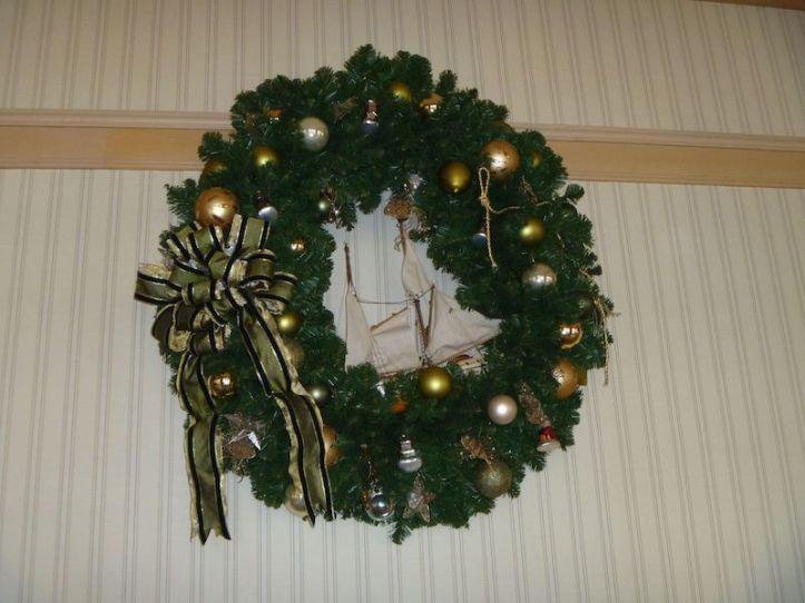 Wreath at the Yacht Club Resort