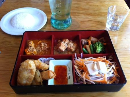Tham Nak Thai - Vegetarian Bento Box
