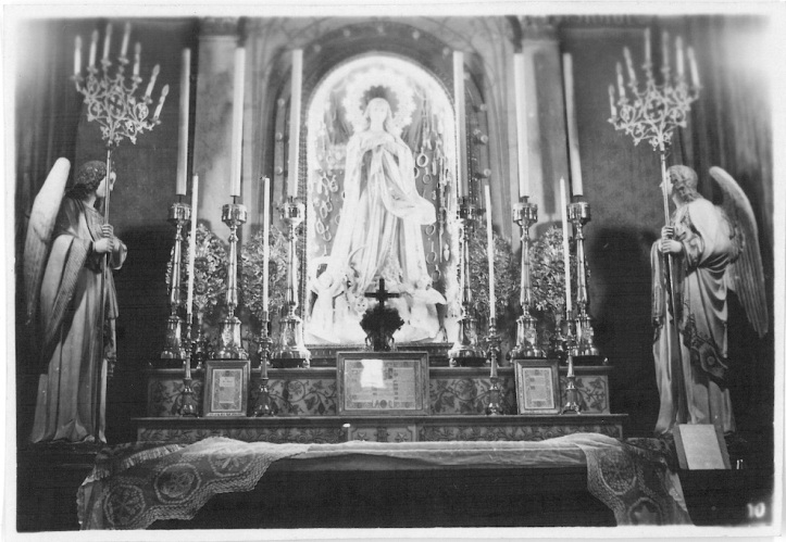 Altar of Cathedral of Nativity - Bethlehem