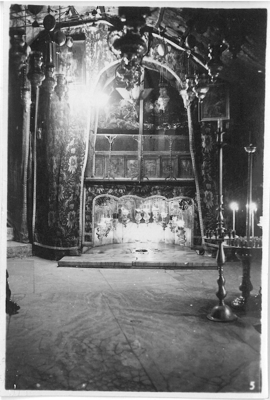 Another View of Star & Altar of Church of Nativity - Bethlehem