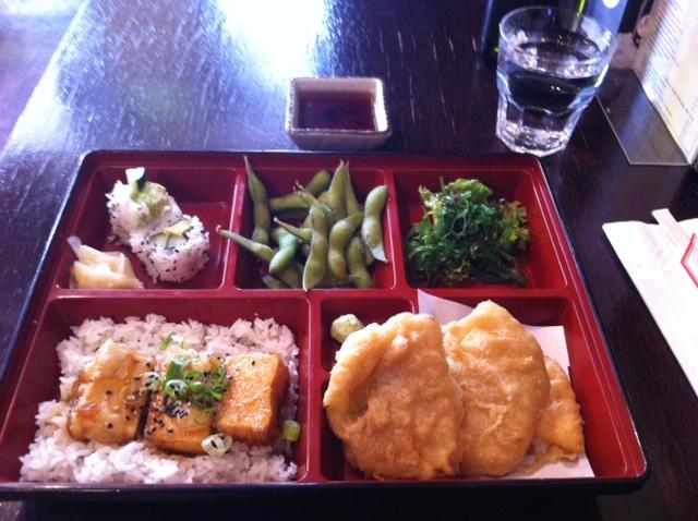Hikari Japanese Restaurant - Vegetarian Bento