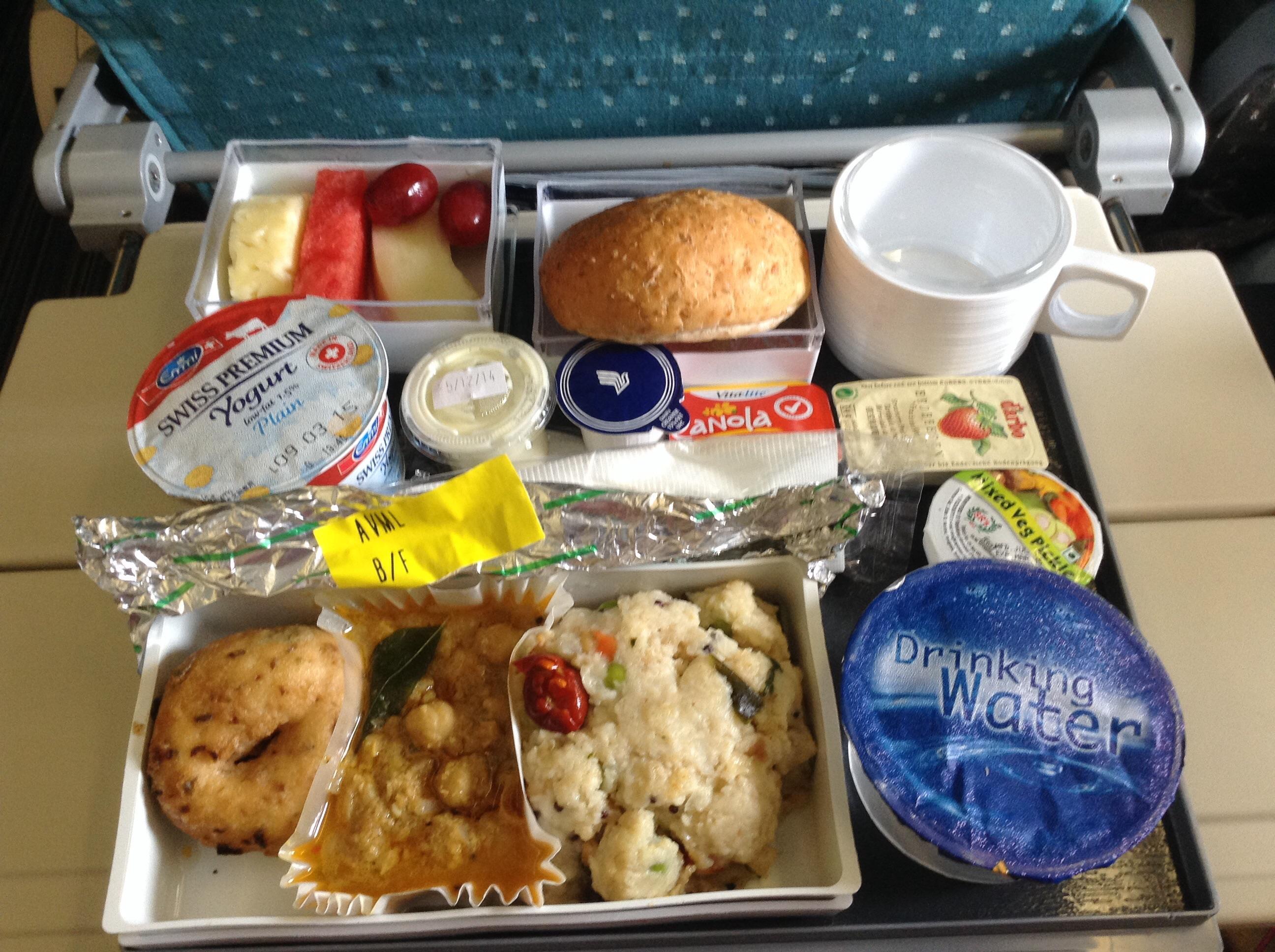 Singapore Airlines Veg...
