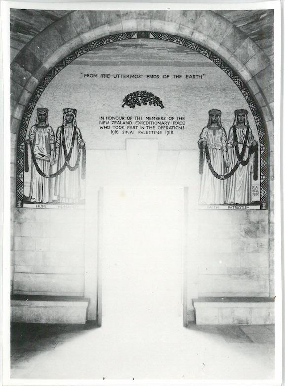 Inside of Chapel - War Cemetery - Jerusalem