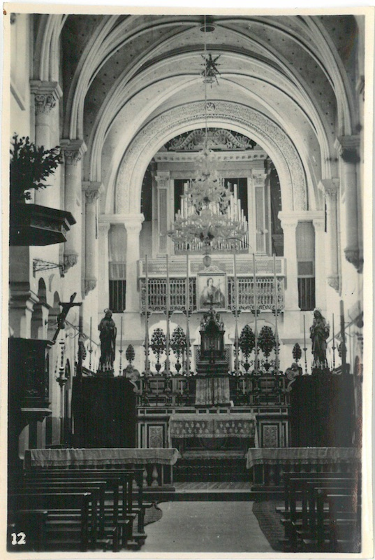 Looking towards Altar of R.L (R.C?) Church - Bethlehem