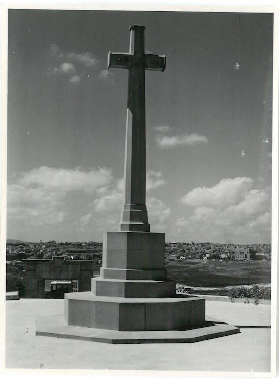 Monument War Cemetery Jerusalem