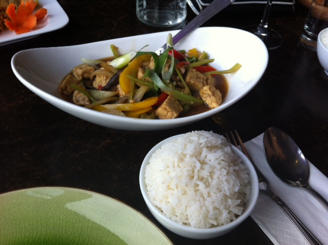 My Thai Lounge - Hot and Spicy Tempeh